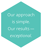 Our approach is simple. Our results - exceptional.